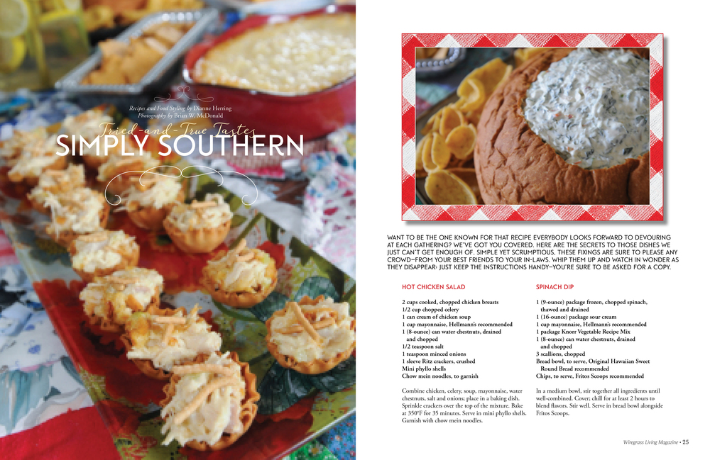 Simply Southern, Wiregrass Living Magazine MJ16
