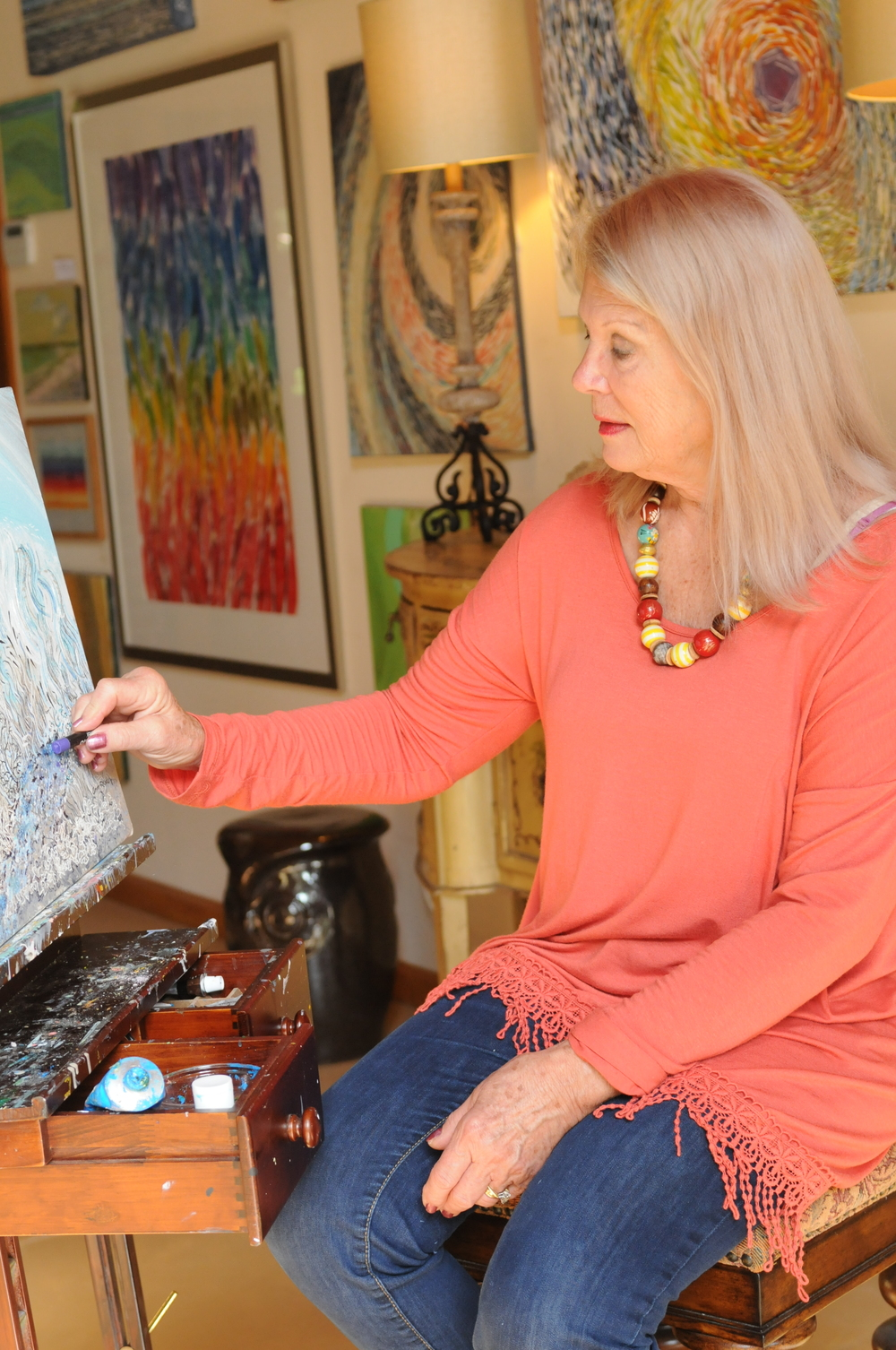 Artist Ann Rudd, Wiregrass Living Magazine, JA16