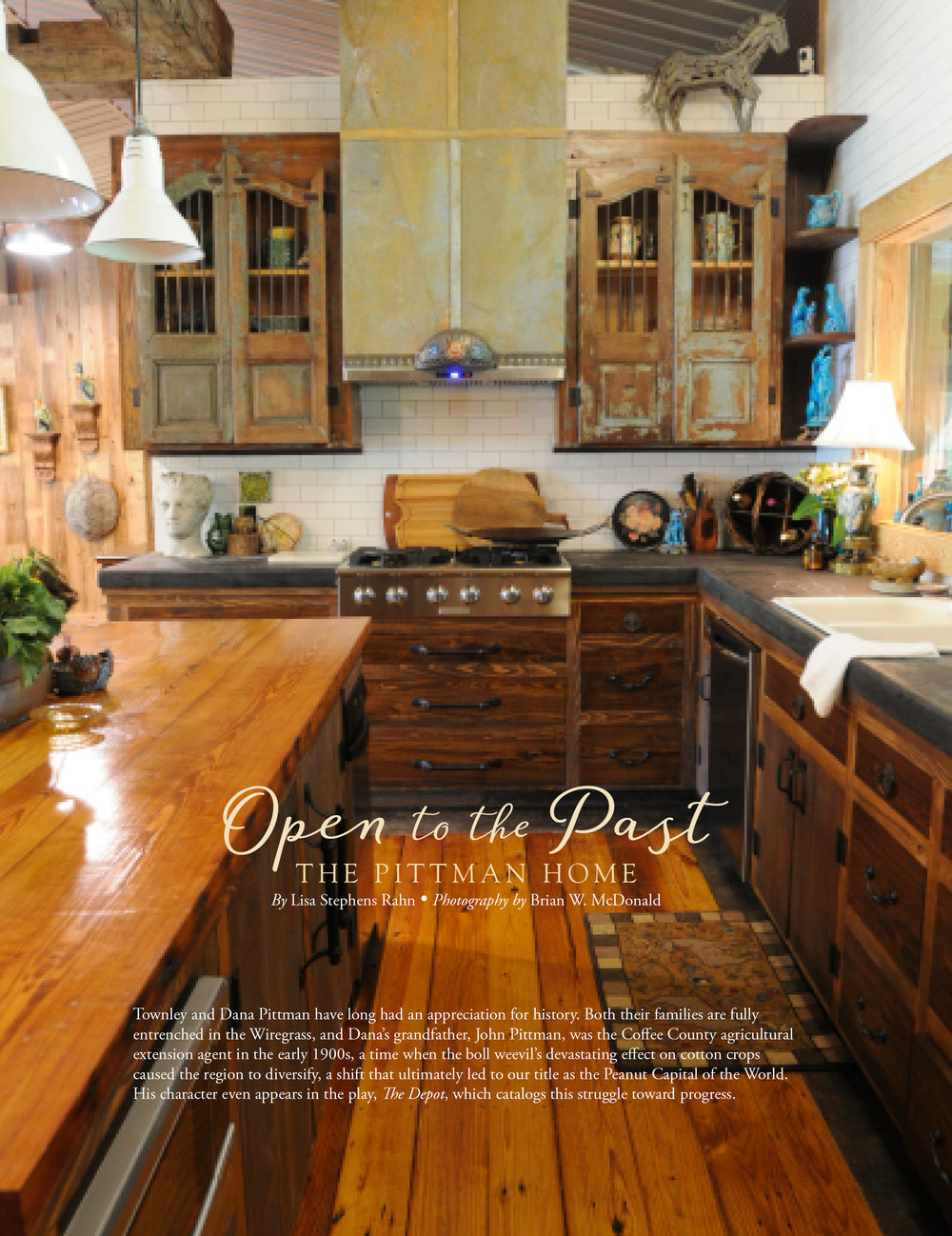 The Pitman Home, Wiregrass Living Magazine, SO16