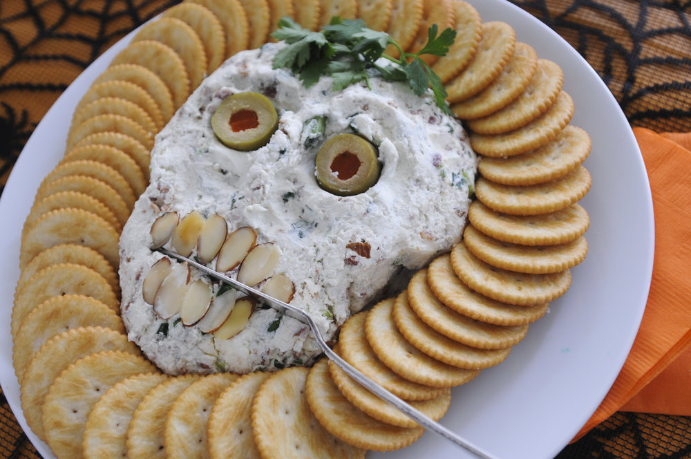 Skull Cheese Ball