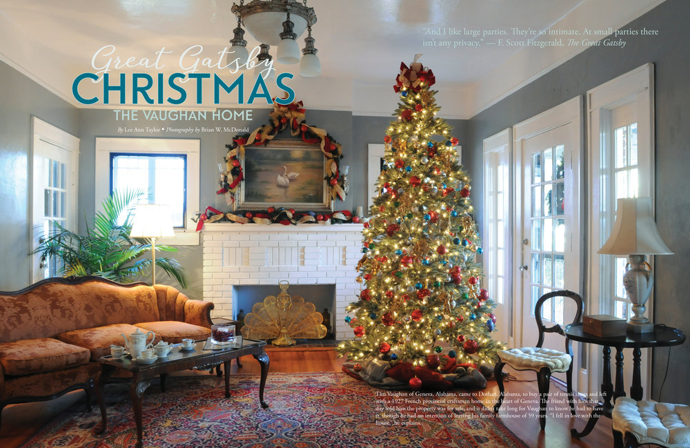 The Vaughan Home, Wiregrass Living Magazine, Nov/Dec16