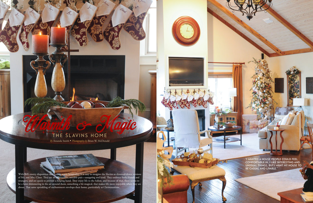 The Slavins Home, Wiregrass Living Magazine, Nov/Dec16