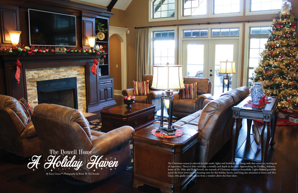 The Nowell Home, Wiregrass Living Magazine, Nov/Dec 2016