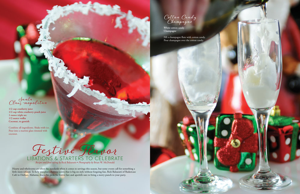 Festive Flavor, Wiregrass Living Magazine, Nov/Dec 2016