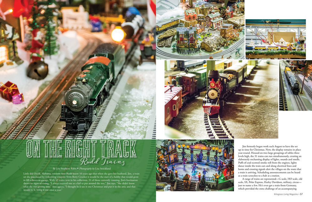 On The Right Track, Wiregrass Living Magazine, Nov/Dec 2016