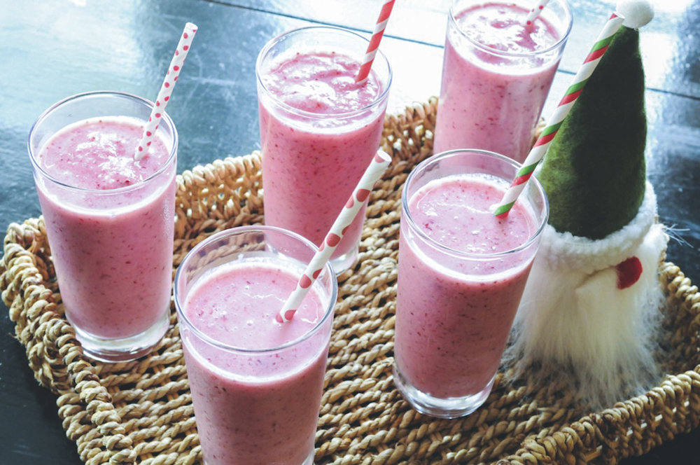 Cranberry Smoothies