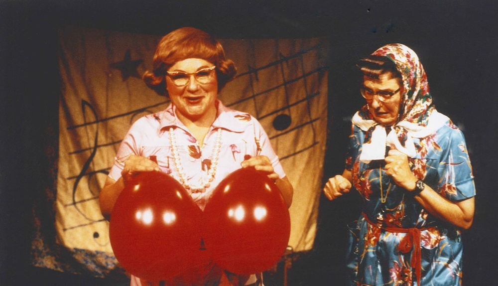 Jo-Ann Waytowich (left) and Marcella Smithers (right), 1997