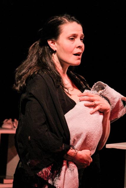 Vanessa Sabourin in Dads in Bondage. Photo by Nicole Zylstra