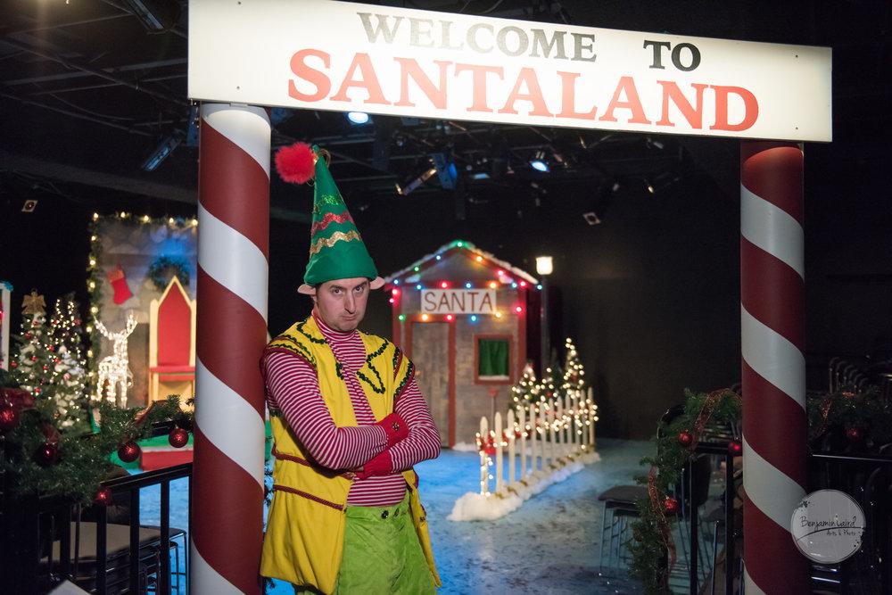 Devon Dubnyk in The Santaland Diaries