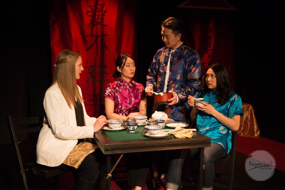 Jamie Matchullis, Chantelle Han, Ben Wong, Kelsey Verzotti PHOTO CREDIT Benjamin Laird Arts & Photo