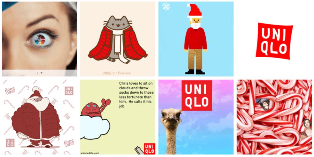 UNIQLO Gif Box Campaign