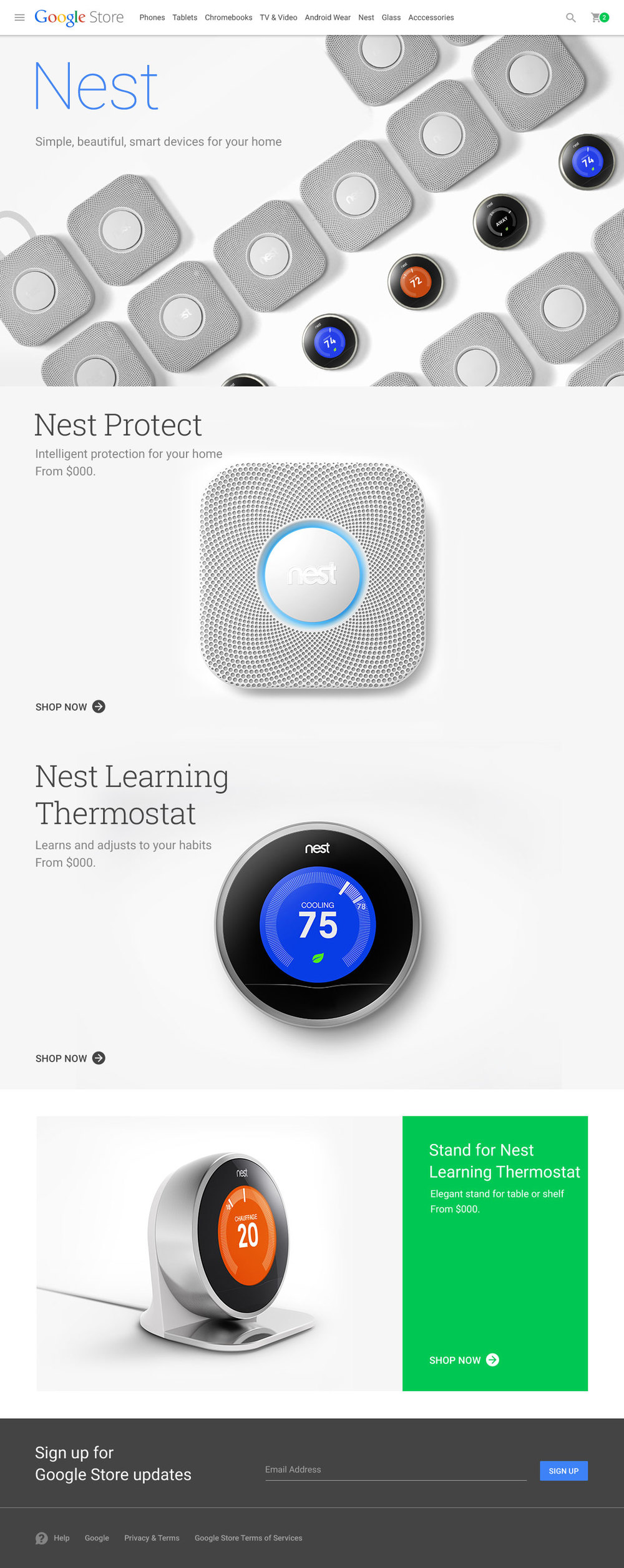Nest Category Page