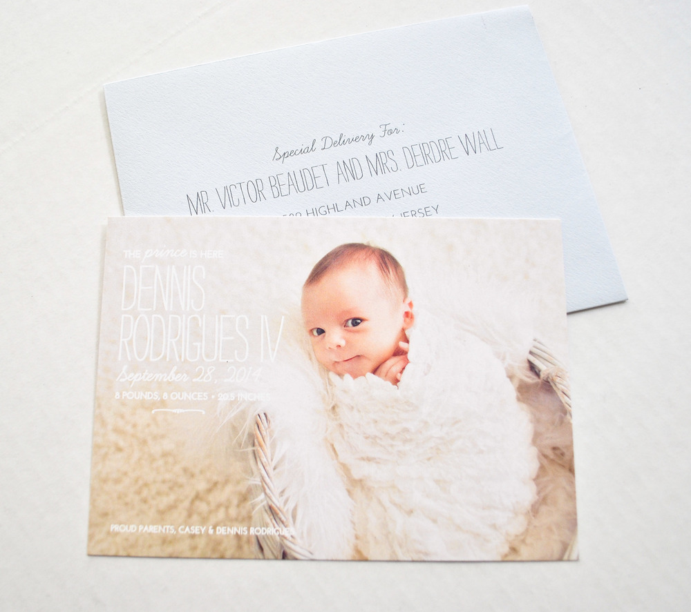 Blog Ink Ivory – High End Birth Announcements