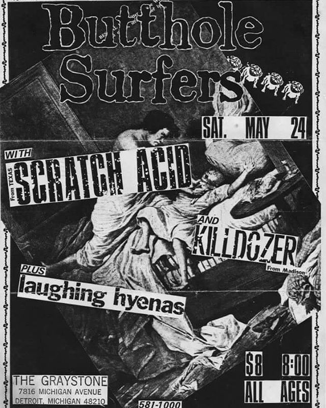First punk show I attended. Laughing Hyenas are still one of my favs.