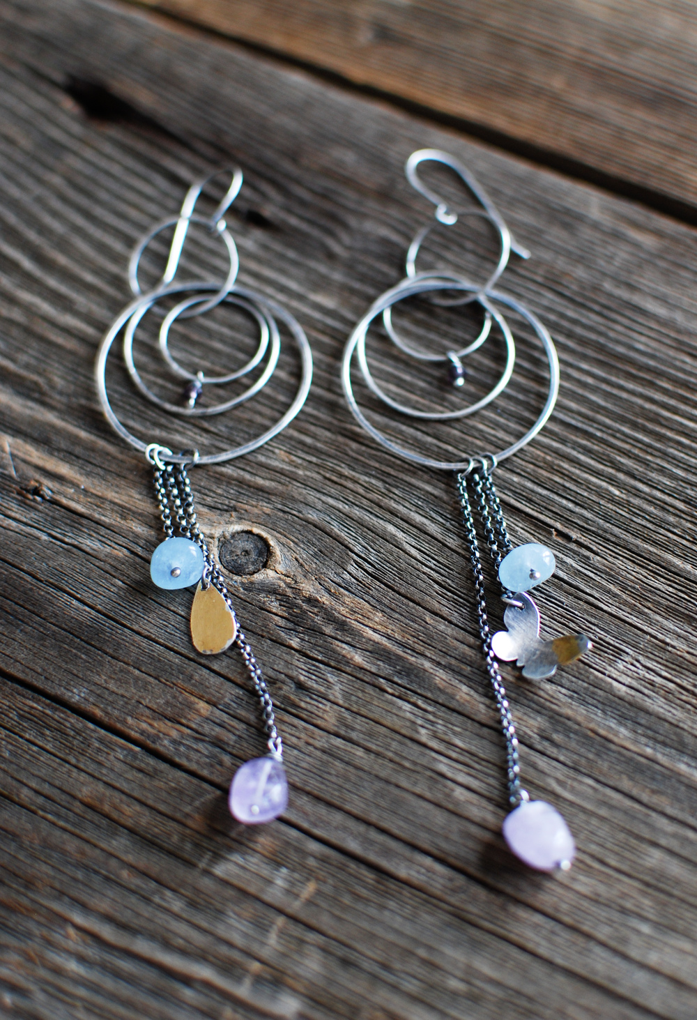 Sterling Silver, 23 ct gold, amethyst, and aquamarine.jpg