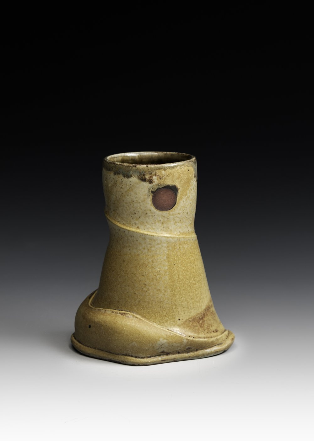 joerling,altered vase, 6.5 x 3.5 x 5, stoneware.jpg