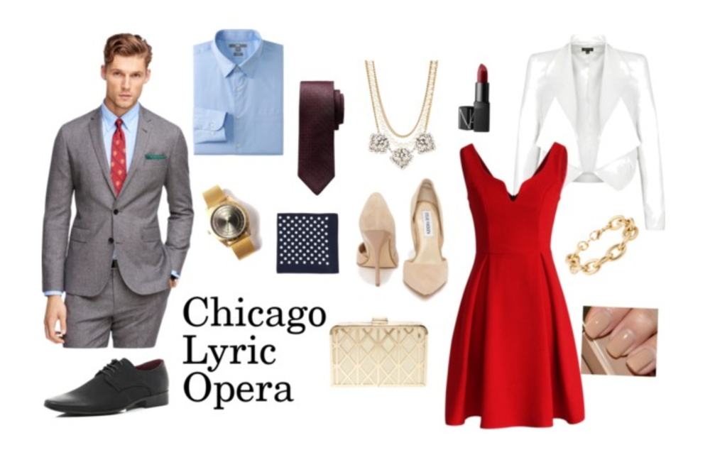 What to wear to the Lyric Opera House? Shop all the pieces here!