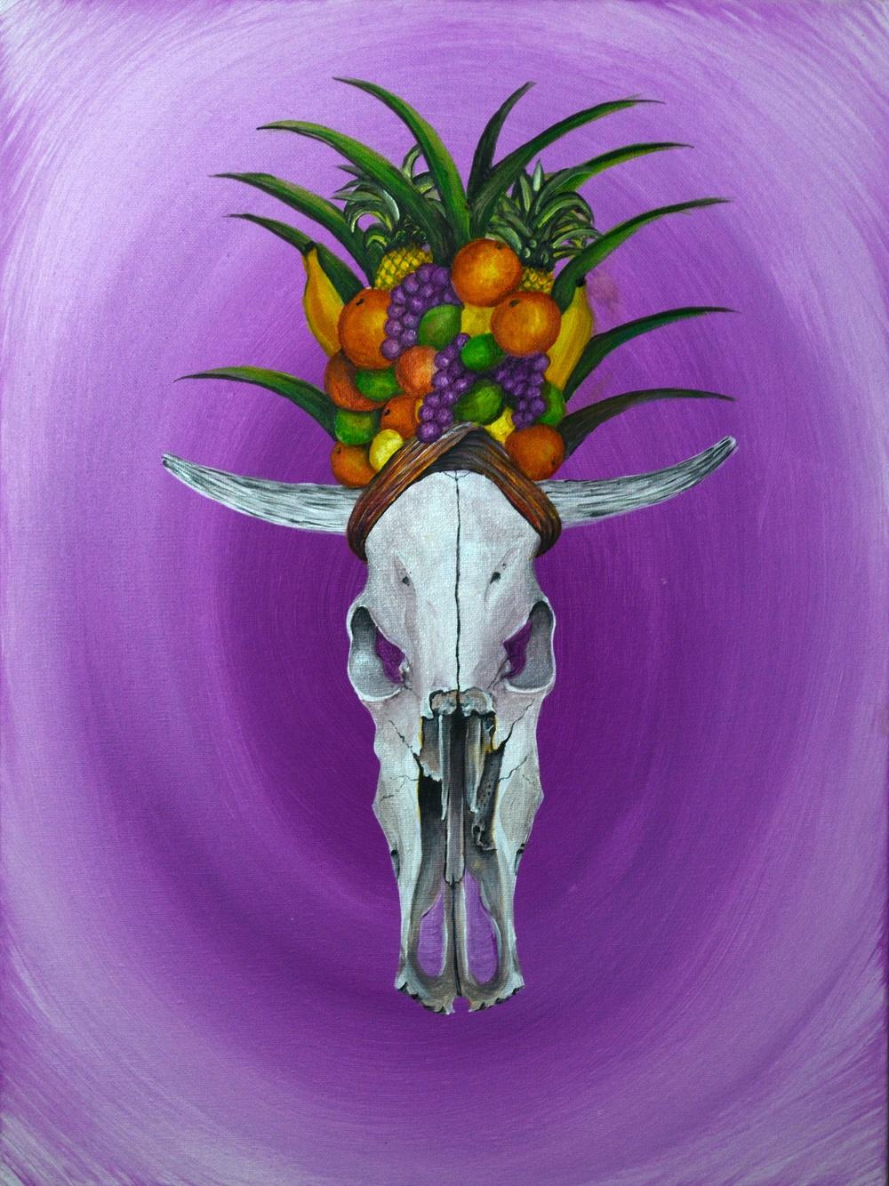 Carmen Miranda Cow Skull.jpg