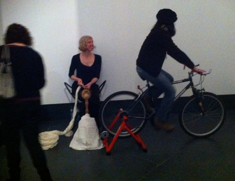 SpinCycle, Installation and Performance, Brooklyn Museum of Art, Brooklyn, NY. 2013.