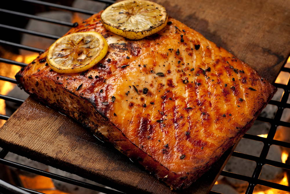 VIS Seafoods Best Grilled Wild Salmon