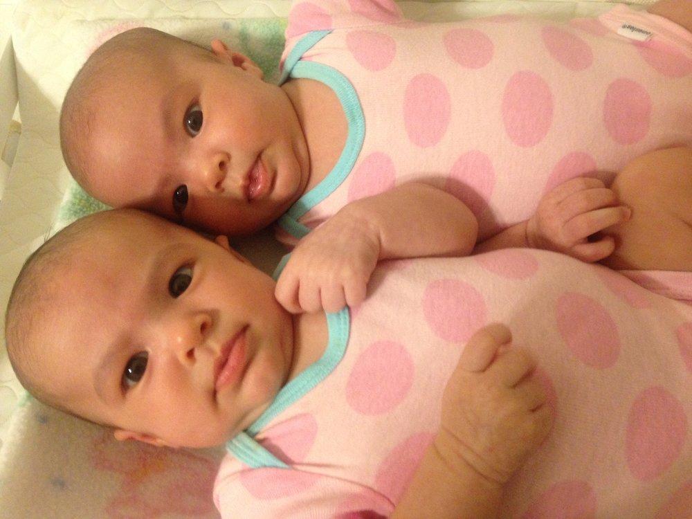 Babies at 6 weeks old