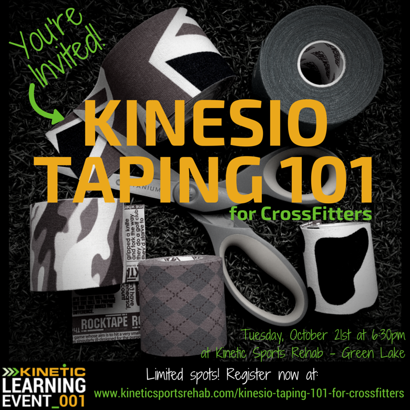 Kinetic Learning Event_001 - KInesio Taping 101 for CrossFitters