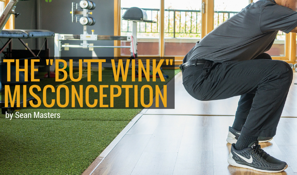 the butt wink misconception header image