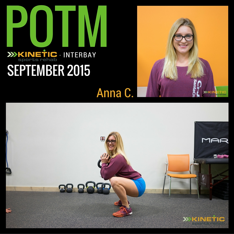 Kinetic Sports Rehab Interbay/Queen Anne POTM Sep 2015