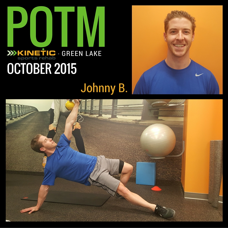 kinetic sports rehab green lake, seattle potm oct 2015