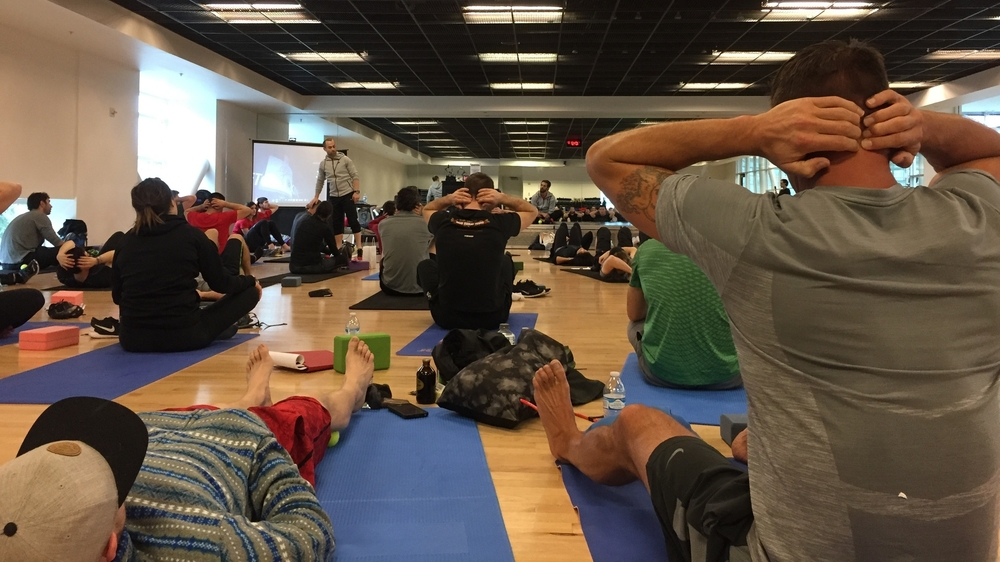 Kinstretch seminar at nike headquarters