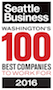 Seattle Business Mag Top 100 Best Company