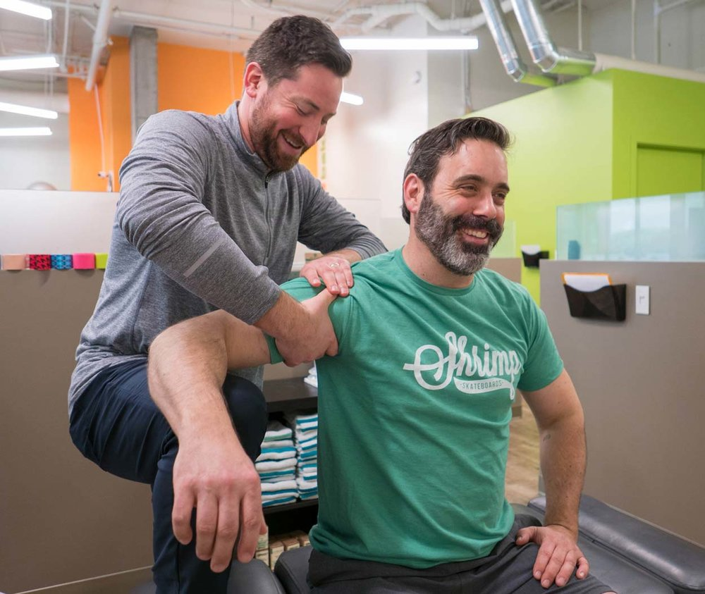 Dr. Smith provides Active Release Therapy at Kinetic's Green Lake clinic.
