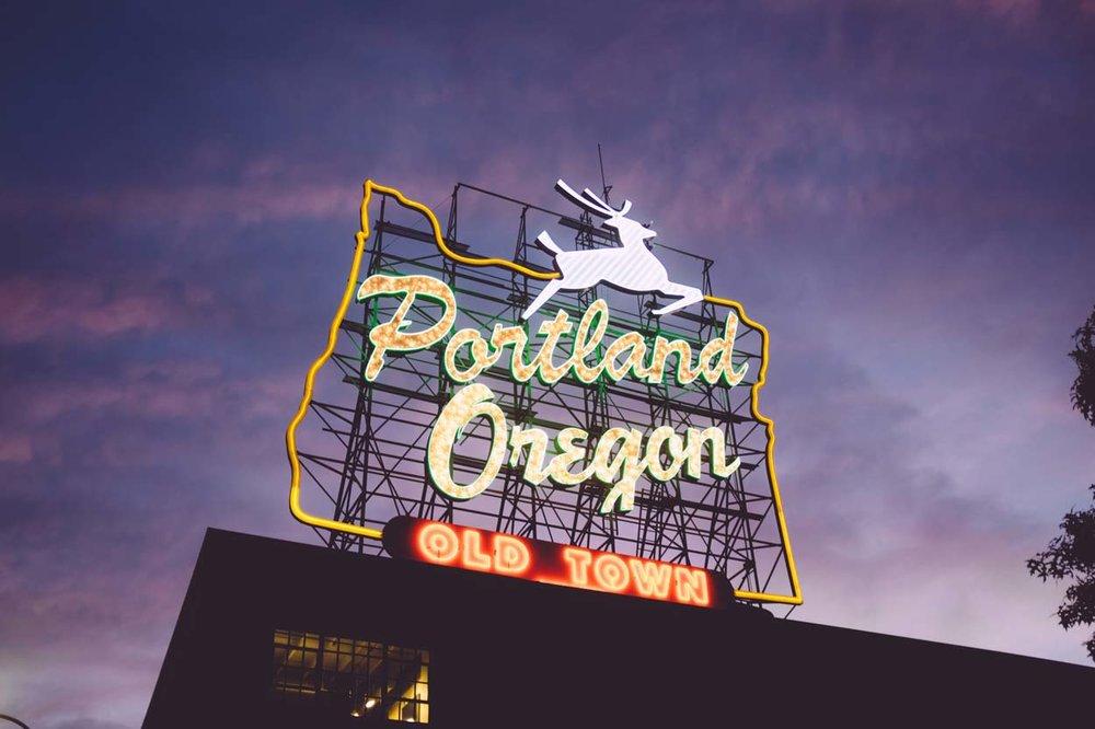 Portland here we come!