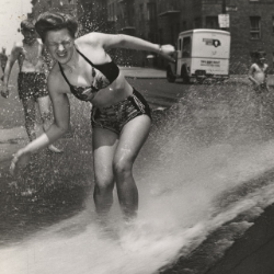 Going for a Dip TBT (ABC News)