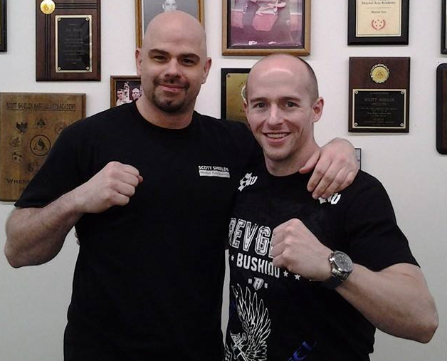 Sifu Scott Shields and David
