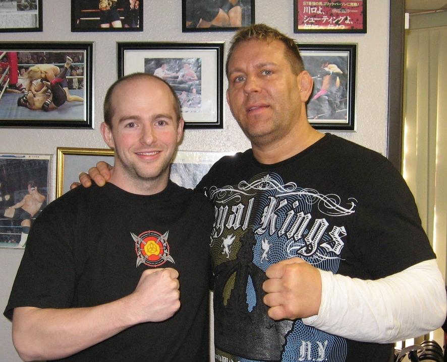 With Sensei Erik Paulson