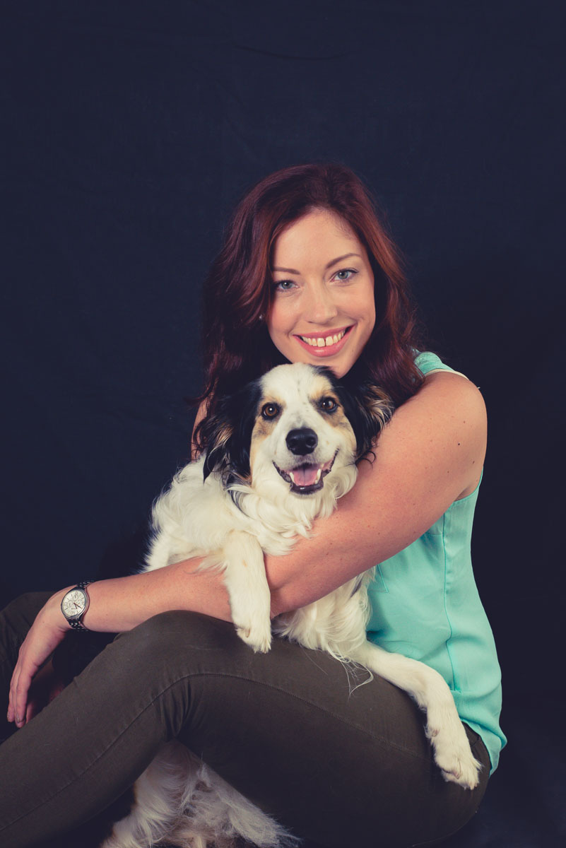 dog and owner photoshoot