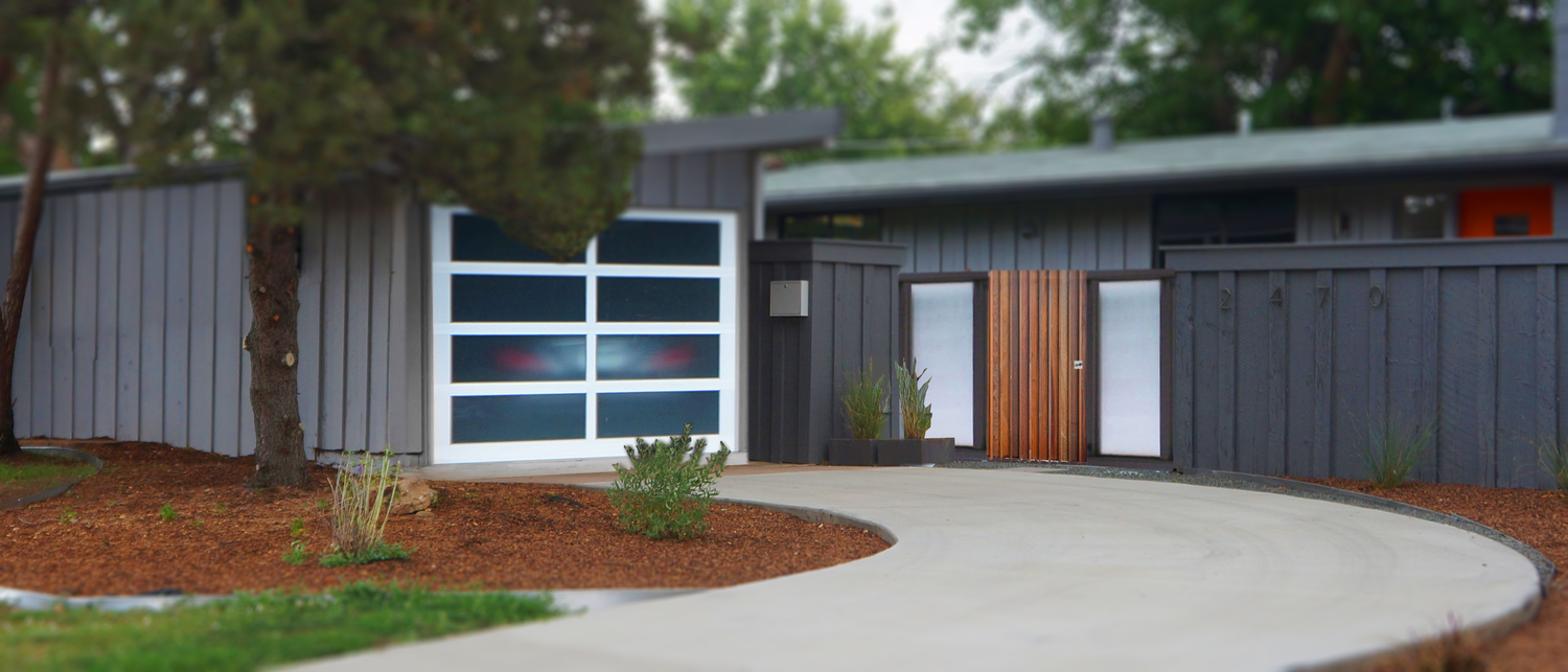 ^ Dana Designs — Denver Modern Fence