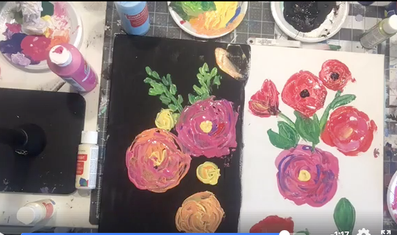 Learn to paint from home!! -