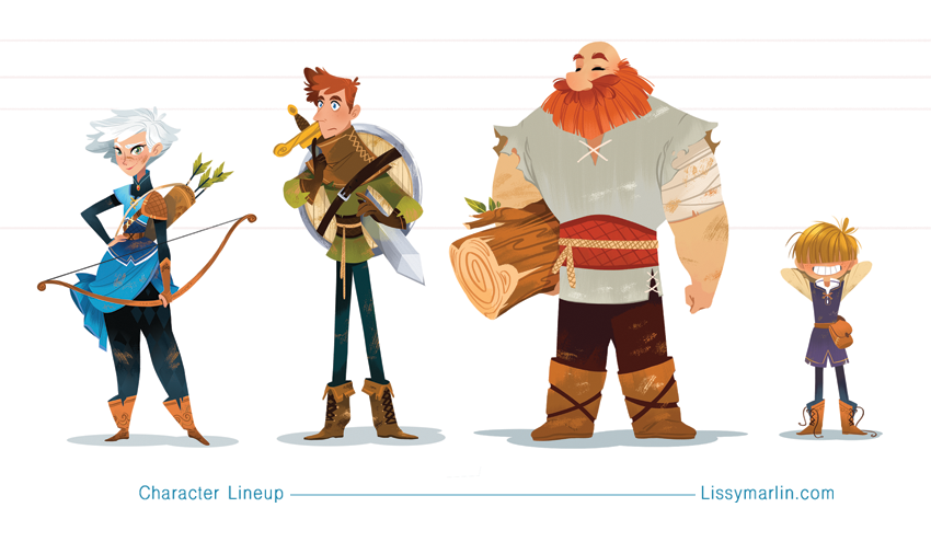Character Design Masterclass Book Pdf : Robin hood masters of anatomy — lissy marlin
