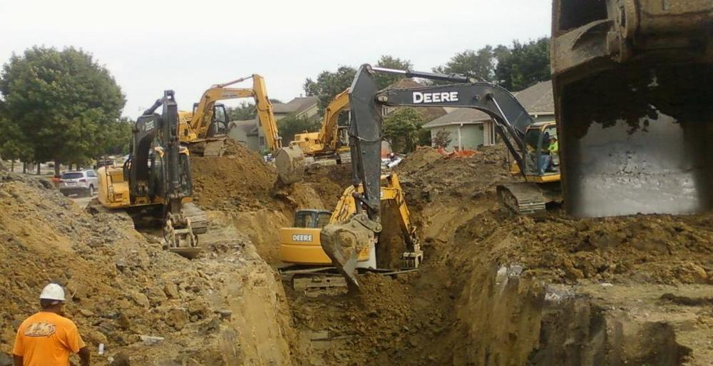Sewer - Water - Excavating - Grading - Demolition