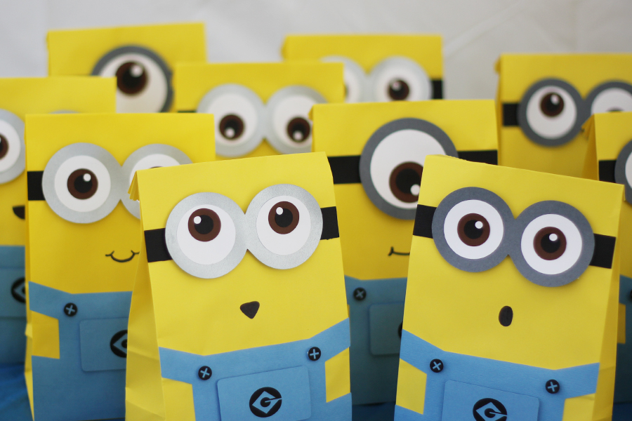 Baby Shower Minions Part - 44: Our Custom Goody Bags Were A Hit For Kaysenu0027s Baby Shower And Ashleyu0027s 9th  Birthday Party. Because No Two Parties Are Alike, Kaysenu0027s Shower  Incorporated ...