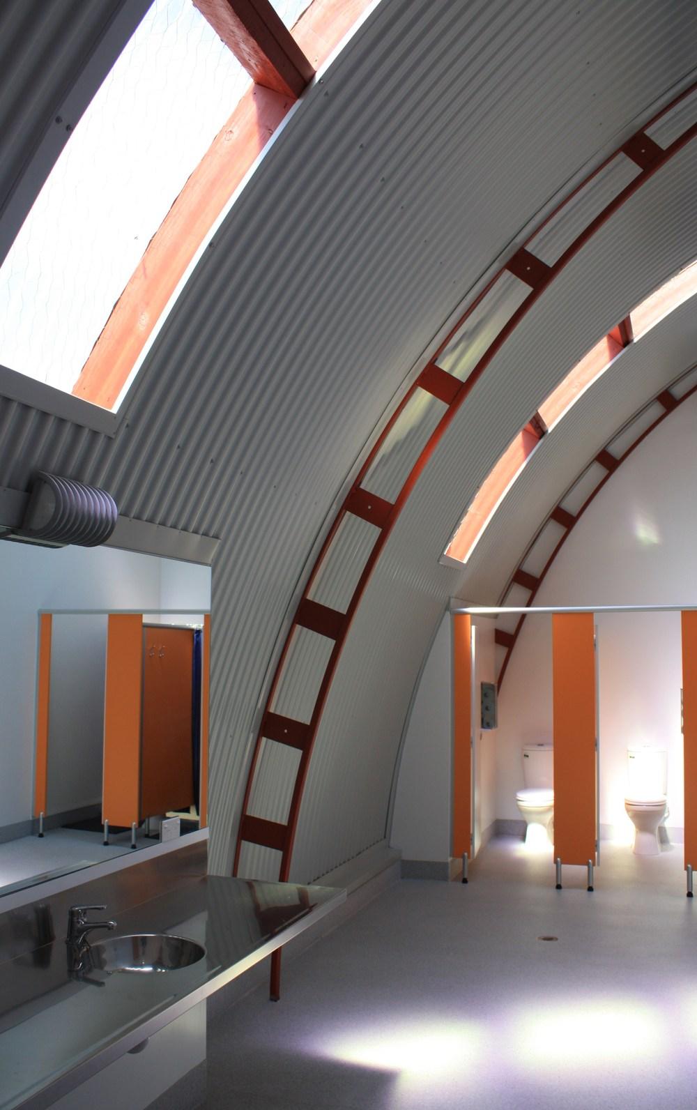 Haast Camper amenities Building.JPG