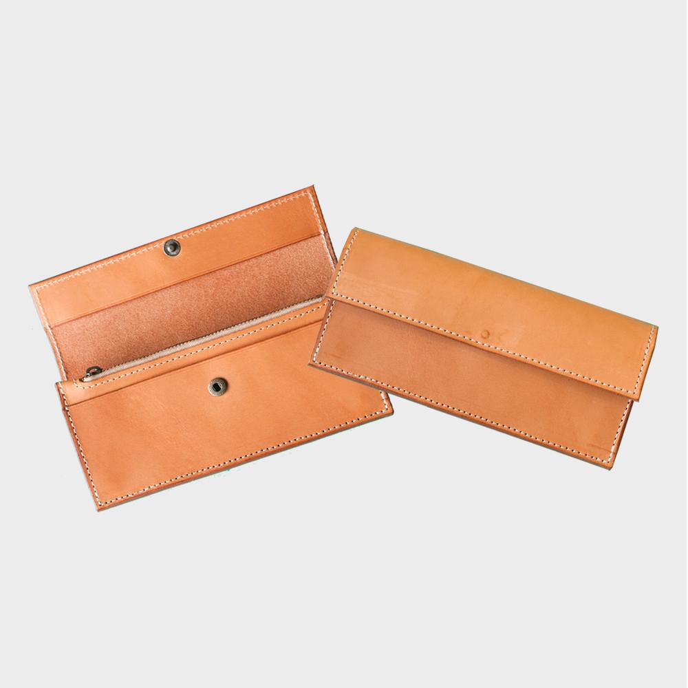 手縫極簡長夾Long Wallet NT$ 3,980  HDB1014