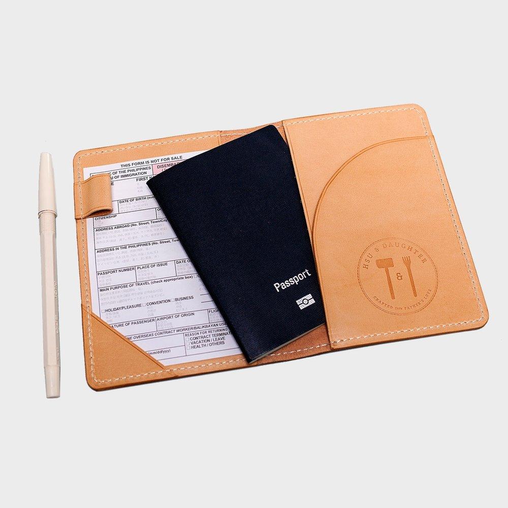 極簡護照夾