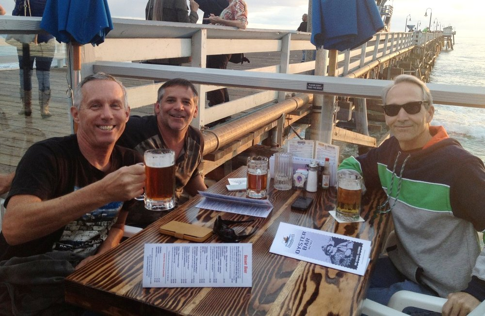 Beer and Burgers on the San Clemente Pier, just one of the favorite places you'll never forget!