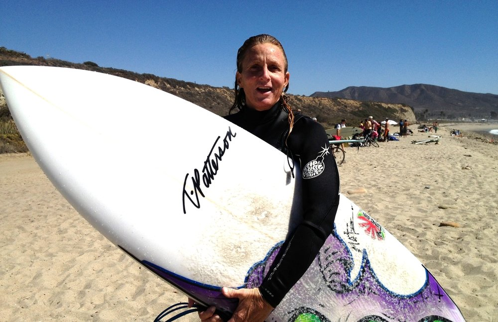 courtney is a california local who now assists peggy in the yoga for surfers teacher training program