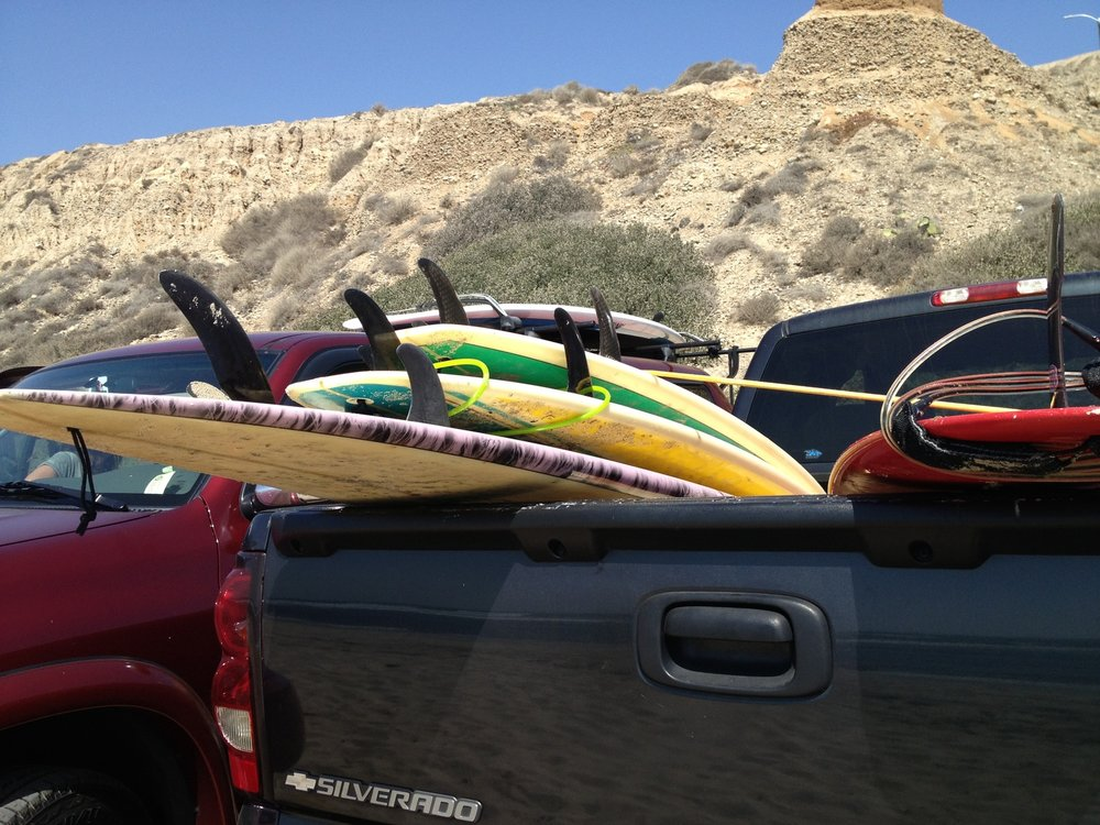 Plenty of surfboards for you to borrow! We also drive you to and from the surf locations! So you can relax and have fun!