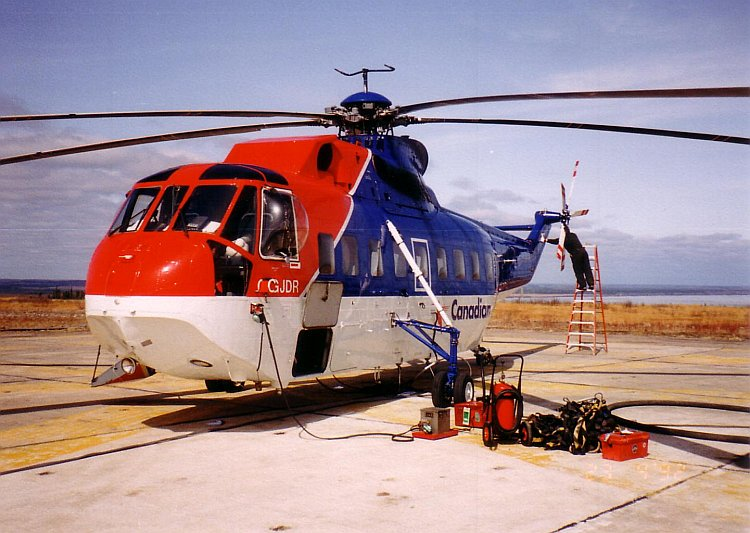 Sikorsky S-61 Experience
