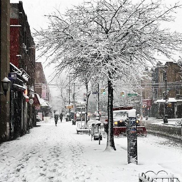 #snowday #astoria #30thave #queens #nyc